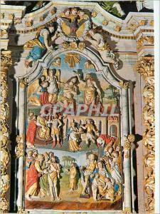 Moderne Karte Lampaul Guimiliau (Finistere) La Bretagne en Couleurs Le Retable de St Jean Baptiste (XVIIe)