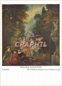 Moderne Karte Lancret Wallace Collection The Italian Comedians by a Fountain (465)