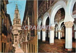 Moderne Karte Toledo Rue de Santa Isabel et Santa Maria la Blanche