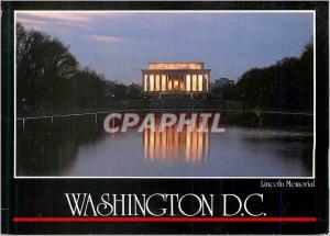 Moderne Karte Washington DC Lincoln Memorial