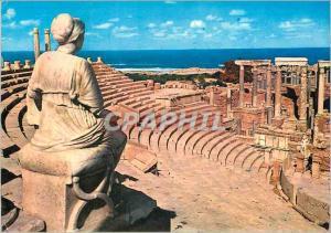 Moderne Karte Leptis Magna