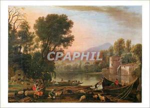 Moderne Karte Museum of Fine Arts Boston Claude Lorrain French 1600 1682 The Mill Seth K Sweetser Fund