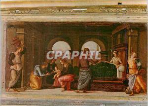 Moderne Karte Urbino Raffaello Sonzio Nativite de la Vierge