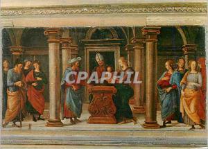 Moderne Karte Urbino Raffaello Sonzio Presentation de Maria au Temple