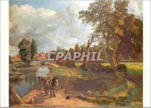 Moderne Karte Flatford Mill By Courtesy of the Tate Gallery London Oil an Canvas John Constable R A