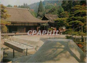 Moderne Karte The Main Edifice and Garden Ginkaku Ji Temple