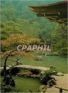 Moderne Karte Ginkaku Ji Temple Front Garden of the Silver Pavillon