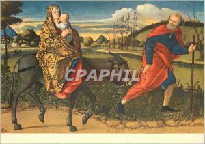 Moderne Karte Giovanni Bellini (1430 1516) La Fuite en Egypte