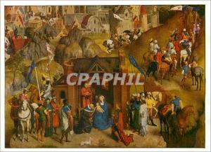 Moderne Karte Munchen Pinakothek Hans Memling (um 1440 1495) Les Sept Joies de Marie (detail)