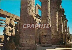 Moderne Karte Luxor Karnak Partie au Hall ds Colonnes du Temple