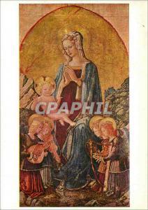 Moderne Karte Galleria Nazionale Dell'Umbria Perugia Benedetto Bonfigli (Perugia 1445 m) Vierges des Dominicai
