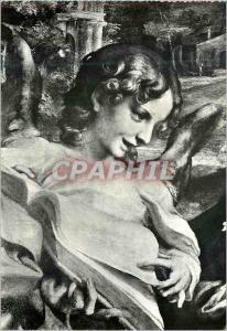 Moderne Karte Parma Galleria Nazionale Correge Madone du St Jerome (detail)