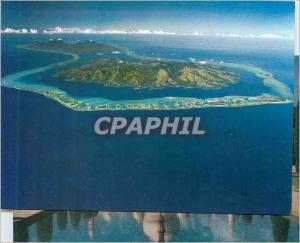 Moderne Karte Tahaa et Raiatea les Iles les Plus Historiques des Iles Sous le Vent