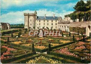 Moderne Karte Villandry (Indre et Loire) Les Merveilles du Val de Loire Les Jardins a la Francaise