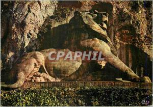 Moderne Karte Belfort (Terr de Belfort) Le Lion (Oeuvre de Bartholdi)