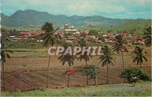 Moderne Karte Ile de la Martinique Francois Vue Generale