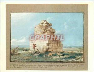 Moderne Karte Louvre Departement des Arts Graphiques Jean Pierre Laurent Houel Ruines d'un Monument Triomphal