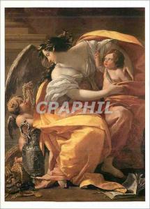 Moderne Karte Louvre Departement des Peintures Simon Vouet Allegorie de la Richesse
