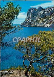 Moderne Karte Marseille Nos Belles Calanques Sormiou