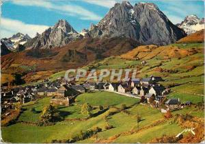 Moderne Karte Lescun les Pyrenees les Aiguilles d'Ansabere