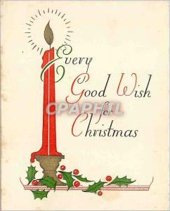 Moderne Karte Every Good Wish for Christmas