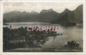 Moderne Karte Lac d'Annecy Le Petit Lac