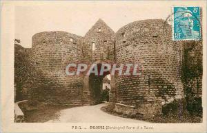 Ansichtskarte AK Domme (Dordogne) Porte des Tours