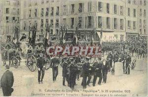 REPRO Catastrophe du Dirigeable Republique le 25 Septembre 1909 Funerailles ces Victimes a Versaille