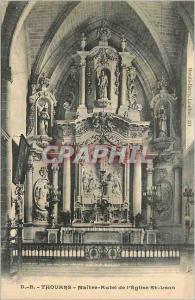Ansichtskarte AK Thouars Maitre Autel de l'Eglise St Laon