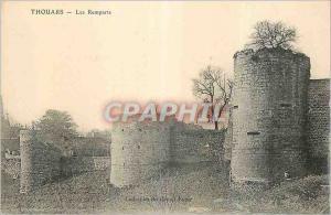 Ansichtskarte AK Thouars Les Remparts