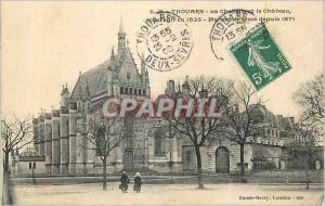 Ansichtskarte AK Thouars La Chapelle et le Chateau construit en 1635 Maison de Force depuis 1871