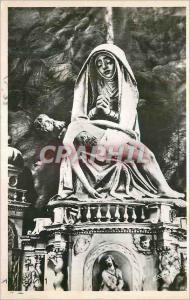Moderne Karte Gorges du Tarn Eglise de Sainte Enimie (Lozere) Pieta en Bois dore deposee sur l'Ancien Maitre a