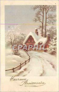 Ansichtskarte AK Heureux Anniversaire