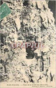 Ansichtskarte AK Baie d'Along Pilier de la Grotte des Merueilles