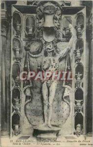 Ansichtskarte AK Bar le Duc l'Eglise St Pierre Mausolee du Prince Rene de Chalons le Squelette