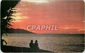 Moderne Karte Puerto Vallarta Jalisco Mexico Romance Under the Setting Sun in Pto