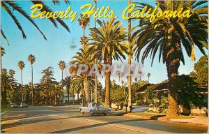 Moderne Karte Beverly Hills California Typical Residential Street in one of the World's most Beautiful and Fam