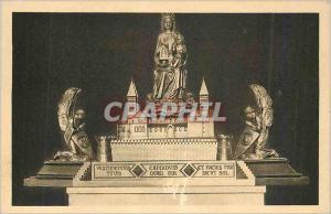 Ansichtskarte AK Statue Reliquaire de N Dame de Verdun bronze dore realisation de la Maison Brunet La Vierge tien