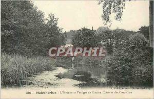 Ansichtskarte AK Malesherbes L'Essonne et Vestiges de l'ancien Couvent des Cordeliers