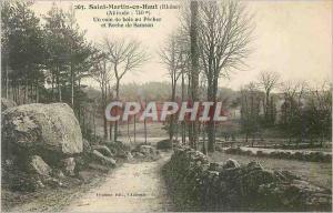 Ansichtskarte AK Saint Martin en Haut (Rhone) Un coin de bois au Pecher et Roche de Samson