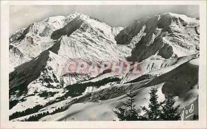 Moderne Karte Megeve (Hte Savoie) Le Mont Blanc Chalet Ideal