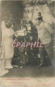 Ansichtskarte AK Cadeaux de l'Ange de Noel