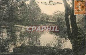 Ansichtskarte AK Foret de Fontainebleau La Mare aux Fees
