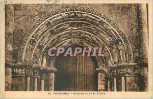 Ansichtskarte AK Parthenay Notre Dame de la Coudre
