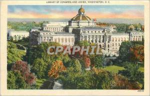 Ansichtskarte AK Washington D C Library of Congress and Annex