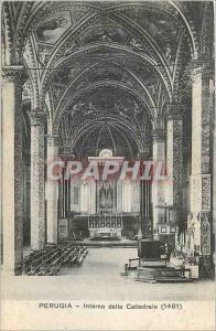 Ansichtskarte AK Perugia Interno Della Cattedrale