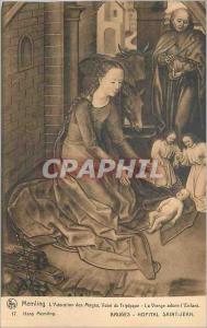 Ansichtskarte AK Bruges Hopital Saint Jean Memling l'Adoration des Mages