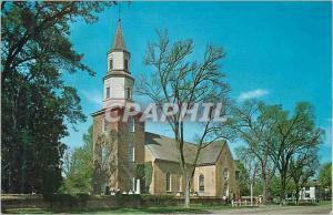 Moderne Karte Virginia Bruton Parish Church Williamsburg