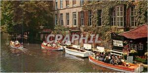 Moderne Karte Bruges Le Dyver
