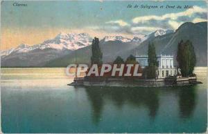 Ansichtskarte AK Clarens Ile de Salagnon et Dent du Midi